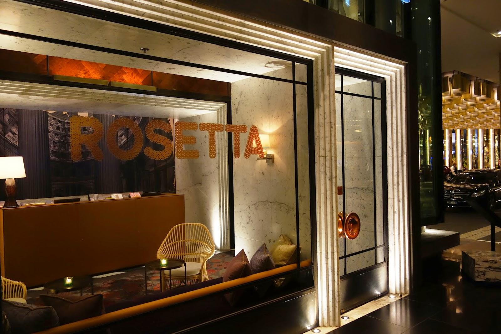 Restaurants - Rosetta