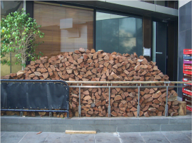 restaurant firewood supplier