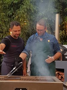 Masterchef Filming using our Restaurant Firewood